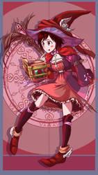 Mahou Shojo: Ruby Rose by ARSONicARTZ