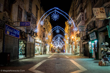 Christmas Valletta by schelly