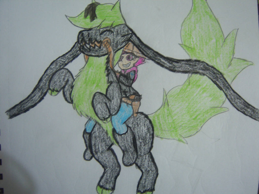Giddey up, Phantom! by Phantom-Pyralis