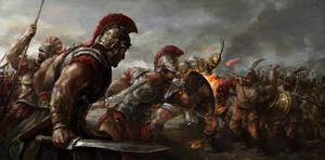 Skirmish by ryomablood