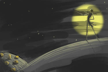Moonlight Serenade by moth-eatn