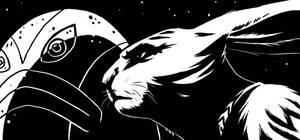 Bunnymund by moth-eatn
