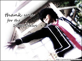 Thank you 1100 Views by PaulaKun