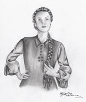 Madame Giry by Phantom-Chick