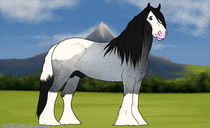 WMRPG - Caspian - Lead Stallion by ShadowWings-Forever