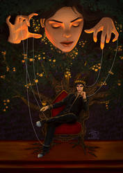 'I will be your puppet.' by monicaaborg