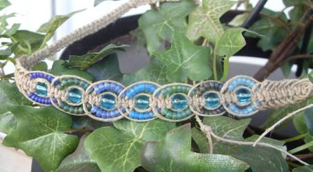 tight fish b one hemp necklace by HempLady4u