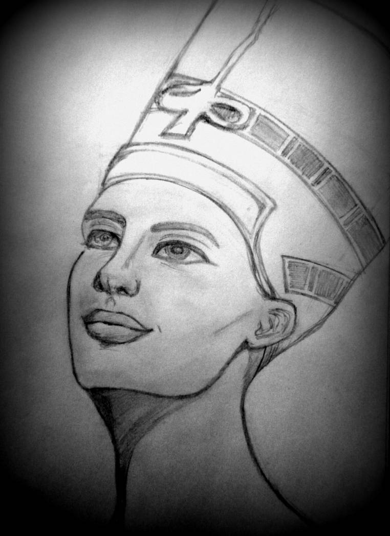 Nefertiti Art by Deena-x