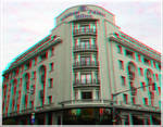 3D anaglyph Athenee Palace Hilton Bucharest by gogu1234
