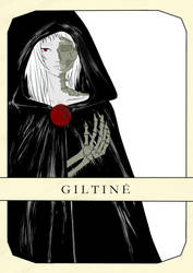 Giltine (Goddess of Death) by Amalaaniwa