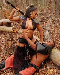 Fatima vs Roan 2 by TheGreatWukong