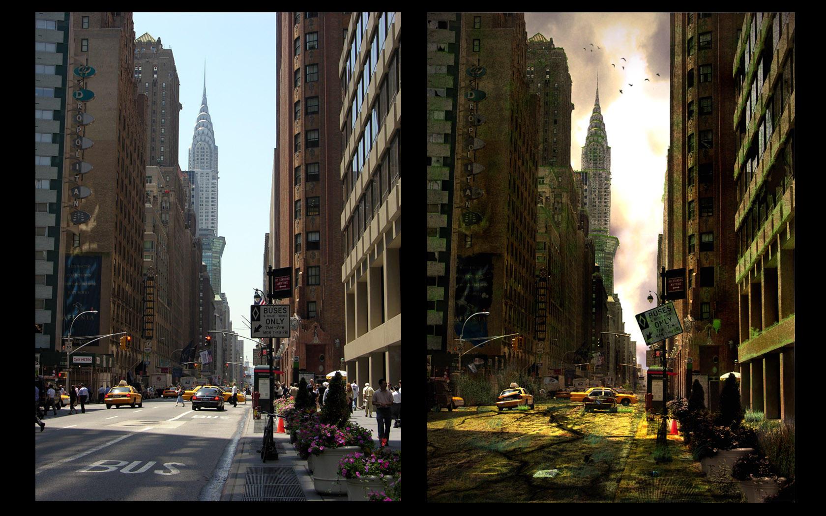 Apocalyptic city..... by indu111