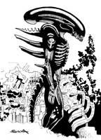 Alien the 8th passenger by guillermosilva