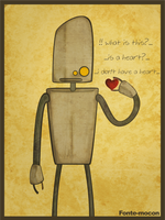 robot heart by mocon