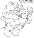 Thanos Final Treat by dmario