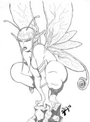 Sulking Fairy - Finished by dmario