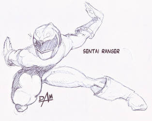Sentai Inkpen sketch by dmario