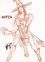 i need a bad witch by dmario