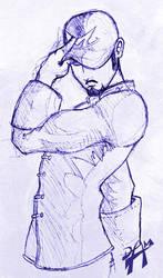 Kokujin sketch by dmario