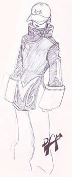 Gaijin Kokujin new robes by dmario