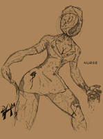 Nurse Stimpy by dmario