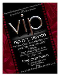 VIP flyer by dmario