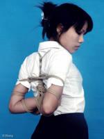 Lanlan Chinese Rope Binding (7) by D-ZHANG-PHOTOGRAPHY