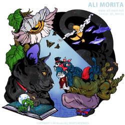 Be in love at night by ali-morita