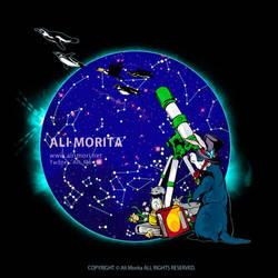 Astronomic observation by ali-morita