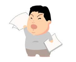 Mascot created for kumamoto kenjinkai website by kinow
