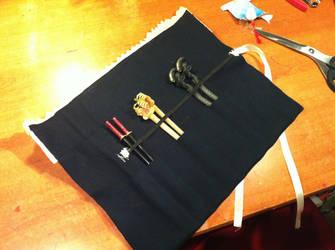 Chopstick Holder inner side Ichigo Kurosaki by PiccolaKaila