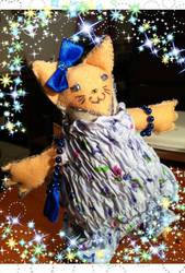Sweet Cat Plush by PiccolaKaila