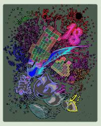 DeviantArt 18th Birthday Line Art Challenge by zc263nc143