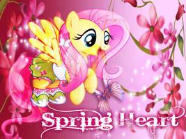 Spring Heart by Mobin-Da-Vinci
