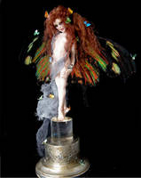 Madame Butterfly Faerie by wingdthing