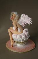 Marilyn Monroe -Angel Food 1 by wingdthing