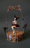 Circus Girl on Swing 1 by wingdthing