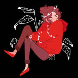 ((Huevember: Red)) by soyochii
