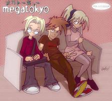 Megatokyo Pop by bigheart