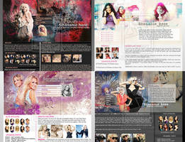 4 Premade layouts by Missesglass