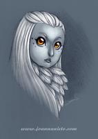 Owl Girl by kalmita