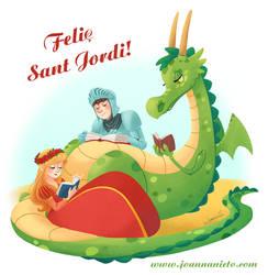 Sant Jordi by kalmita
