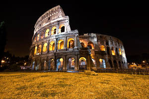 Coloseum by night by Grofica