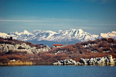 Church on the Skadar lake by Grofica