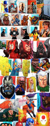 X-MEN archives by stompboxxx
