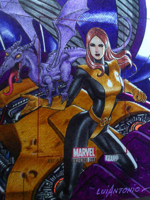 Shadowcat-Kitty Pryde WIP  (143) by stompboxxx