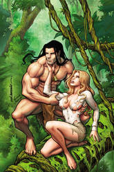 Lord of the Jungle #09--Art by Lui Antonio by stompboxxx