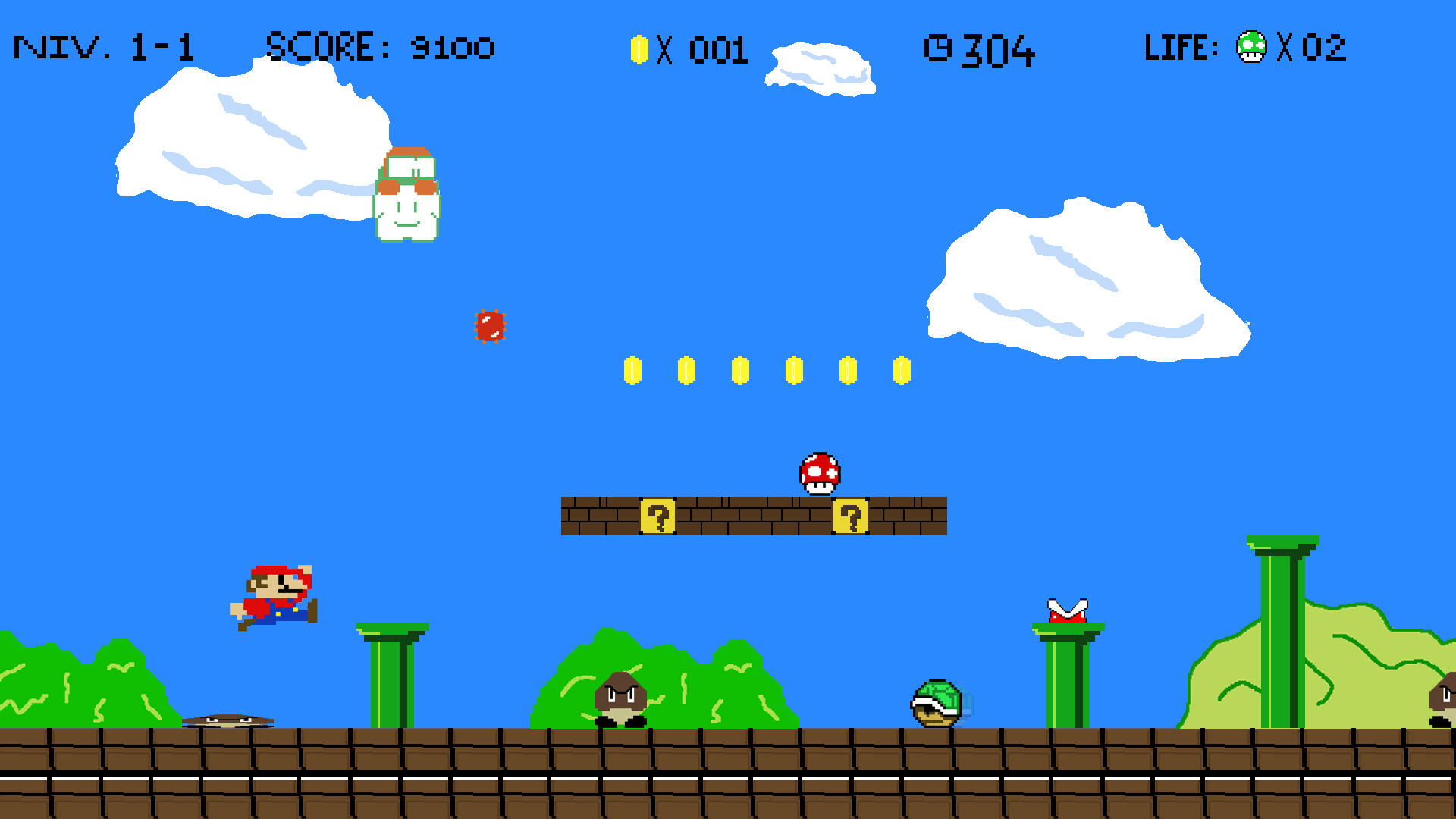 Super Mario Bros World 1 by SullyVanCraft