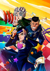 crazy noisy bizarre town by emedeme