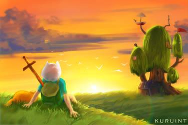 Adventure Time by Kuruint